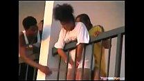 Baise sur le balcon Dakar