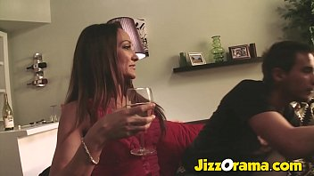 Hot Milf Fucks her Son's Friend 20 min