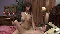 Syren De Mer teaching Jessica Rex how to lick pussy