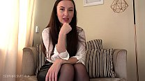 Sophia Smith JOI Encouragement Upskirt and Stockings