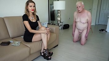 Unscrupulous mistress spells an old man for money 12 min