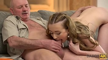 DADDY4K. Mature dad makes closer acquaintance with young beauty Jessi