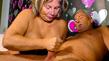 XXX OMAS - Horny German granny needs a hard cock up her mature pussy 10 min