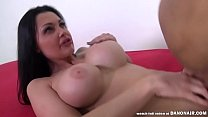 ALETTA OCEAN CUMS on the World's Luckiest Man, Porno Dan Leal