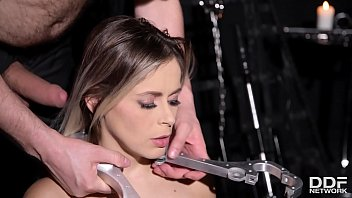Submissive hottie Vittoria Dolce gets her tight asshole filled in BDSM porn 18 min