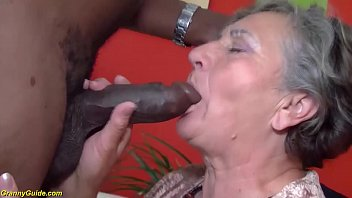hairy 80 years old granny first interracial 12 min