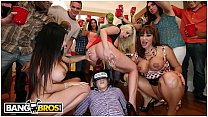 BANGBROS - College Party Gets Invaded & Turnt Up By A Lot Of Pornstars