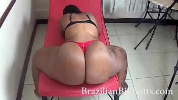 BrazilianBigButts.com Mega Booty Teasing and Getting Fucked