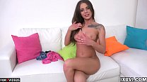 Lita Phoenix wants sex and passionately caresses her pink pussy