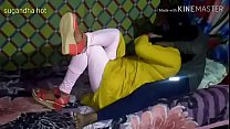 Desi indian village bhabhi fucking with her sister's son in absence of her family and loud moaning