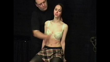 Face slapping and tongue punishment