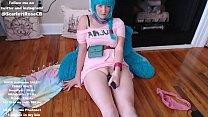 Scarlett Rose - Bulma Dragon Ball Chaturbate Stream