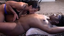 Black Beauty Licked and Fingered to Orgasm (Interracial)