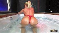 Lara De Santis - homemade italian bitch spreading tits ass and pussy and masturbate underwater in jacuzzi