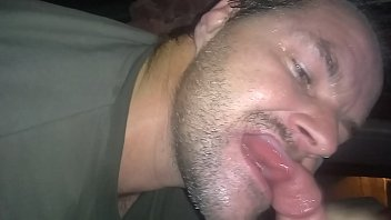 My brother in law obsessed be with sucking my cock