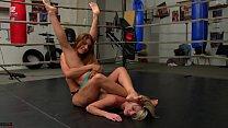 Foot s. School Girl Pin Female Wrestling Humiliation