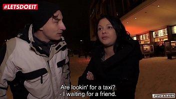 LETSDOEIT - German Milf Accepts To Fuck For Money in Bus