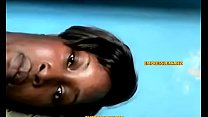 Ebony milf showcase her curves