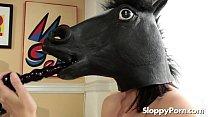 Masked solo slut Kimberly Kane