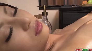 Aoi Miyama loves pussy so she gets steamy in lesbian scenes - More at Japanesemamas com
