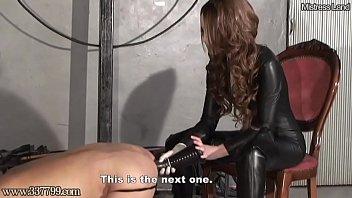Japanese Femdom Deep Anal Horse Dildo for Slave