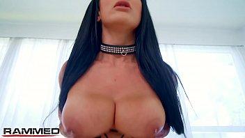 Rammed - badass slut Katrina Jade used by 2 big dicks
