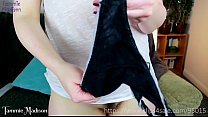 Making My Panties Sticky for You - Hysterical Literature Masturbation and Cum in My Panties