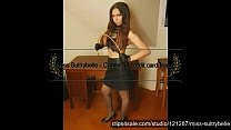 Miss Sultrybelle caning multiple girls.