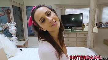 Busty stepsis Ashley Adams fucked in the ass POV style