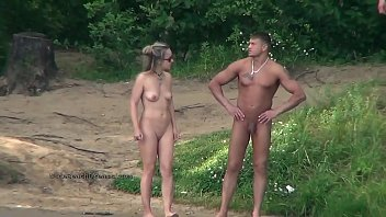 Spy videos with the real life nudists