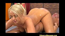 Slippery nuru massage blonde