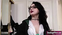 Ink wizard teacher fucked by her student