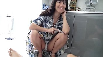 Hot Mature With Fringe Fucks Her Son