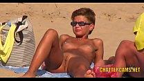 Nudist Beach MILF Closeup Spycam Compilation