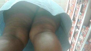 Thick black ass upskirt in Mzansi