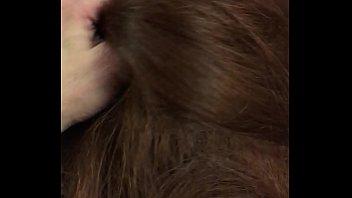long thick hair blow job 24 sec