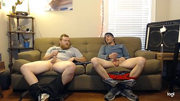 This guy said he was straight, but didn't act like it when jerking off with this other dude on secret cam