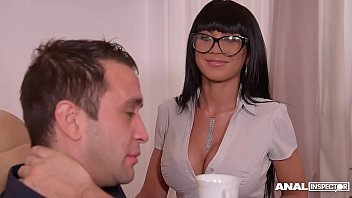 Anal inspoctors can't wait to see busty office Milf Valentina Ricci's ass 12 min