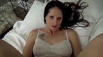 Mom & Son Share a Bed - Mom Wakes Up to Son Masturbating - POV, MILF, Family Sex, Mother - Christina Sapphire 10 min