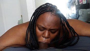 Bbw slut gets facial keeps sucking 8 min