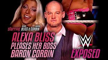 Wrestling Exposed - Alexa Bliss pleases her boss Baron Corbin