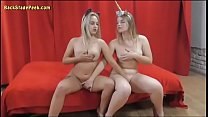 Two Hot Teen Blondes Show Their Tight Bodies In A Photoshoot