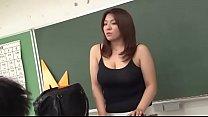 big breast teacher japanese