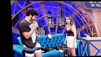 Caio Castro de Cueca programa da Tatá Werneck Lady Night