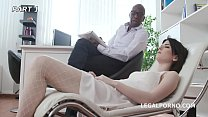 Psico Doctor Sara Bell #1, Mike starts the session! Balls Deep Anal, Cremapie to Swallow GIO1002