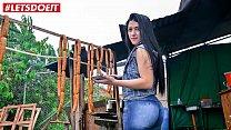 MAMACITAZ - #Lola Puentes - Horny Amateur Latina Rides Big Cock Like A Champ