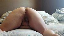 Sexy BBW Asshole getting Cum