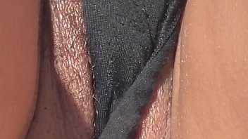 Pussy Slip While Laying In Panty Out in Public