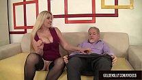 Passionate Mature Sex with Big Tits Grandma Cala Craves 8 min