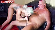 LETSDOEIT - German Teen Makes Her First Sex Tape With Her Step Dad